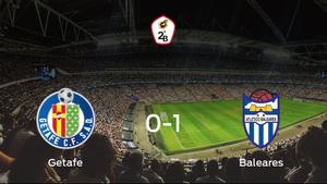 El At. Baleares logra una ajustada victoria ante el Getafe B (0-1)