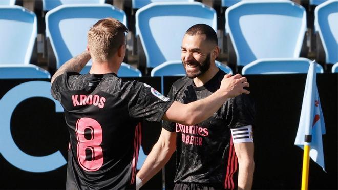 Kroos y Modric empezarán en el banquillo