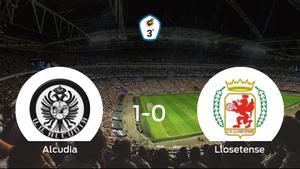 El Alcudia suma tres puntos después de derrotar 1-0 al Llosetense