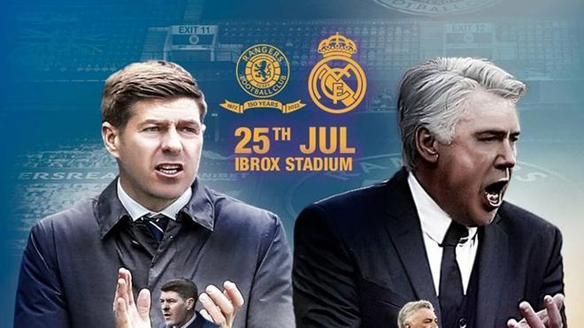 El amistoso entre el Real Madrid y el Ranger contará con la presencia de 12.750 aficionados