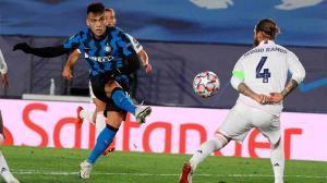 El gol de Lautaro al Madrid con asistencia exquisita de Barella