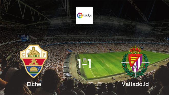 Points shared, as Elche play out a 1-1 draw at Estadio Martínez Valero