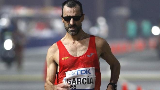García Bragado durante su actuación en Doha