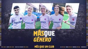 La segunda camiseta del Barça: Más que género