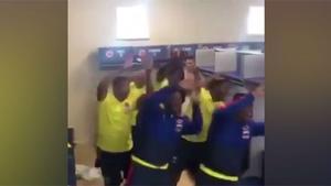 La nueva celebración de la Selección Colombia