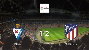 No home advantage for Eibar, as Atlético Madrid take all 3 points (2-1)