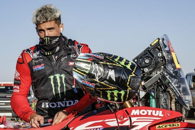 Kevin Benavides, ganador del Dakar 2021 con Honda