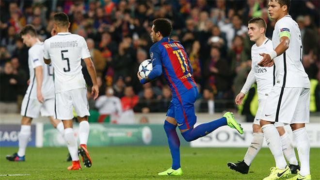 ¿Último entreno de Neymar con el Barça?