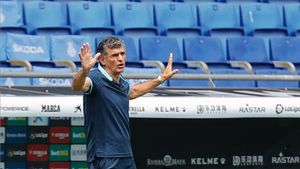 José Luís Mendilíbar, entrenador del Eibar