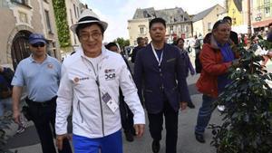 Chan, en 2016, cuando fue nombrado Ciudadano de Honor de Le Mans