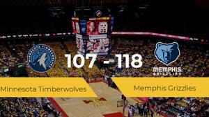 Memphis Grizzlies consigue vencer a Minnesota Timberwolves (107-118)