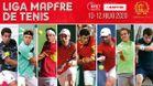 El cartel de la Liga MAPFRE de tenis masculino