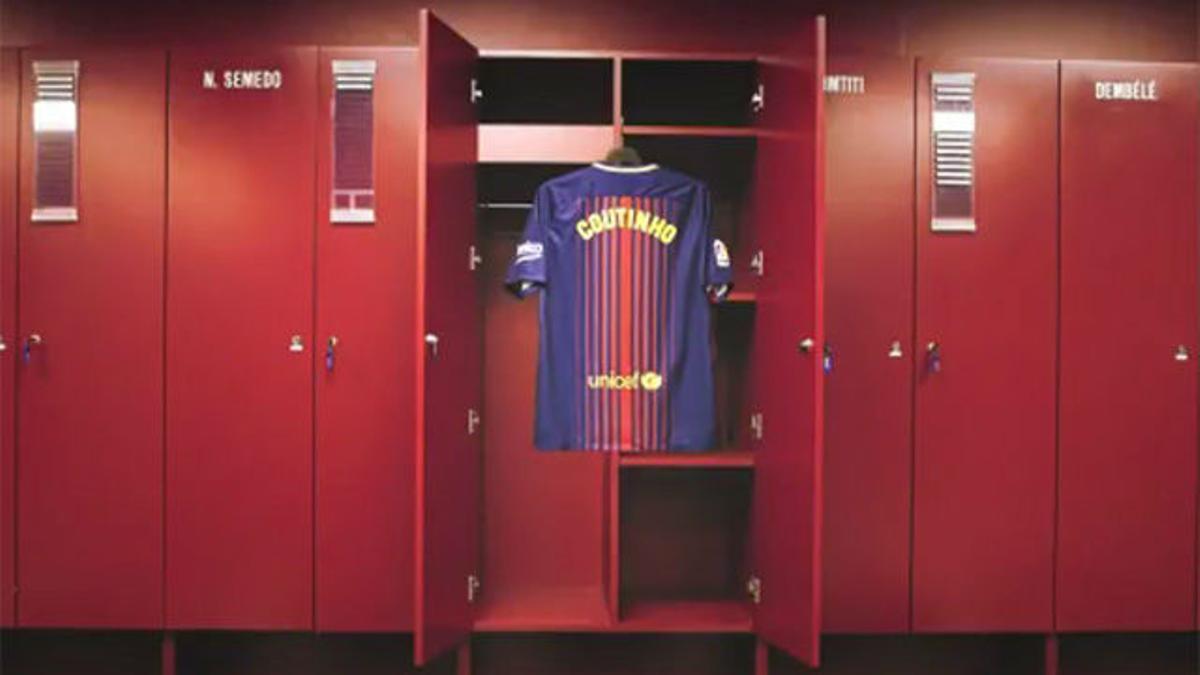 Así anunció el Barça el fichaje de Coutinho