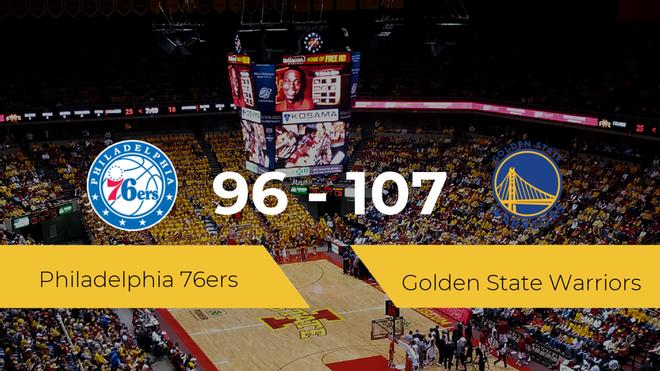 Golden State Warriors vence a Philadelphia 76ers (96-107)