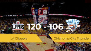 LA Clippers se impone por 120-106 frente a Oklahoma City Thunder