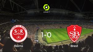 El Stade de Reims vence 1-0 al Brest y se lleva los tres puntos