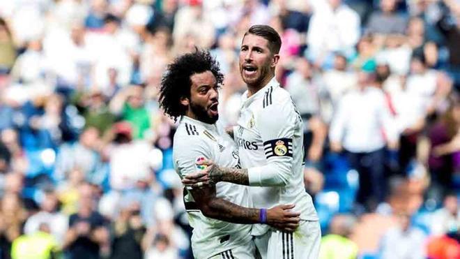 Marcelo y Sergio Ramos, capitanes del REal Madrid