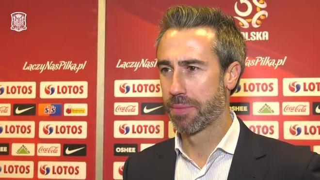 Jorge Vilda: Con este empate damos un paso adelante en la clasificación