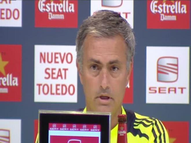 Mourinho: Prefiero perder la Supercopa y ganar la Liga