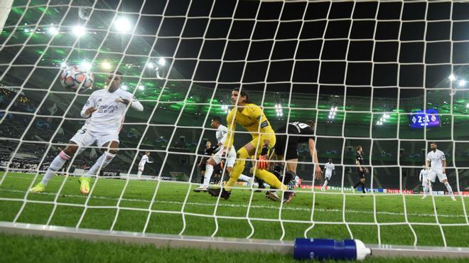 Casemiro se marcó un Ramos marcando en el 93 el gol del empate