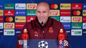 Zidane: Hay que quitarse el sombrero con este equipo