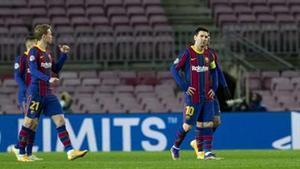 El Barça volvió a perder en el Camp Nou en Champions. No lo hacía desde mayo de 2013 contra el Bayern Múnich (0-3)