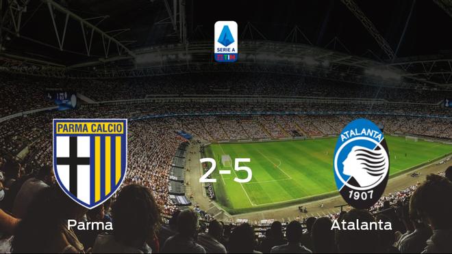 El Atalanta le arrebata los tres puntos al Parma (2-5)