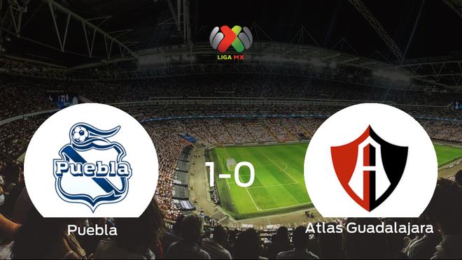 El Puebla vence 1-0 contra el Atlas Guadalajara en los cuartos de final