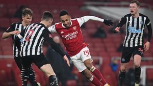 Arsenal y Newcastle se enfrentaron en FA Cup el 9 de enero