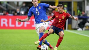 Yeremy Pino fue de los mejores ante Italia en su debut