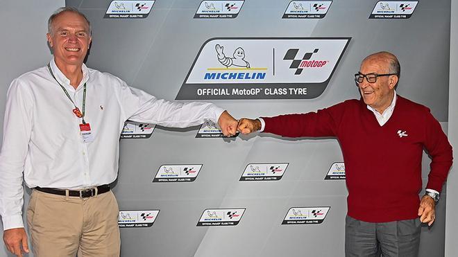 Michelin y Dorna han sellado un nuevo acuerdo por tres años, hasta 2026