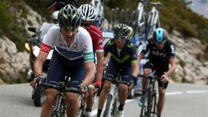 Soler, en la Volta, tira con Contador, Valverde y Froome