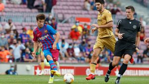 Riqui Puig apenas ha jugado esta temporada con el Barça