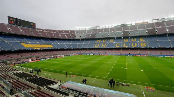 El Camp Nou seguirá vacío hasta el próximo curso