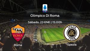 Previa del encuentro: la AS Roma recibe en su feudo al Spezia Calcio