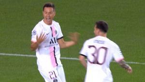 El gol de Ander Herrera que dio un punto al PSG