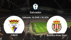 Jornada 12 de la Tercera División: previa del encuentro Yagüe - Atlético River Ebro