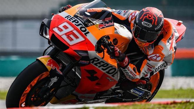 Marc tiene ocho títulos en total, Rossi nueve.