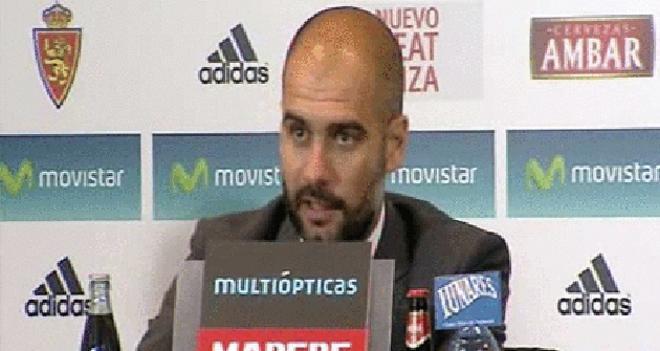 Guardiola: Nos ponen el césped alto y también se perjudican ellos