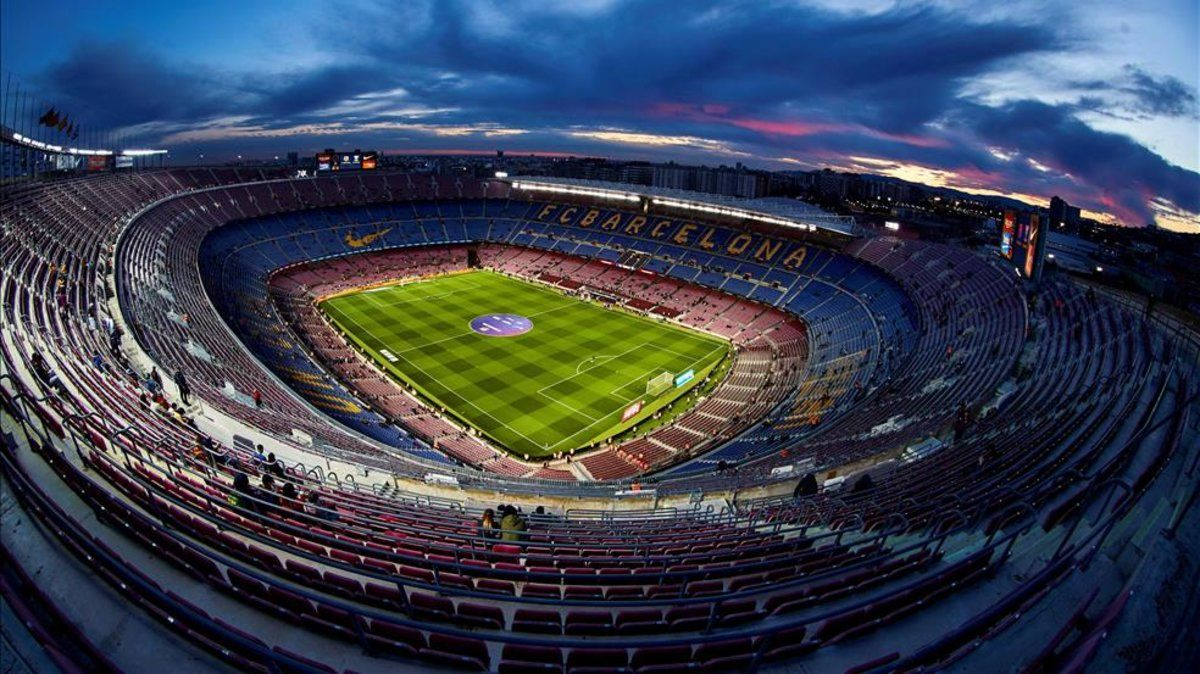 Una imagen del Camp Nou, sin fecha para recuperar su normalidad
