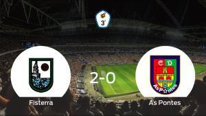 Triunfo 2-0 del Fisterra ante el As Pontes