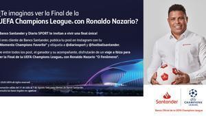 Disfruta de toda una final de Champions junto a Ronaldo