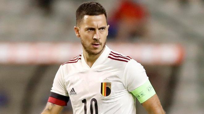 Hazard, en el pasado partido ante Croacia