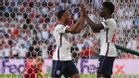 Sterling y Saka fabricaron el 1-1 contra Dinamarca