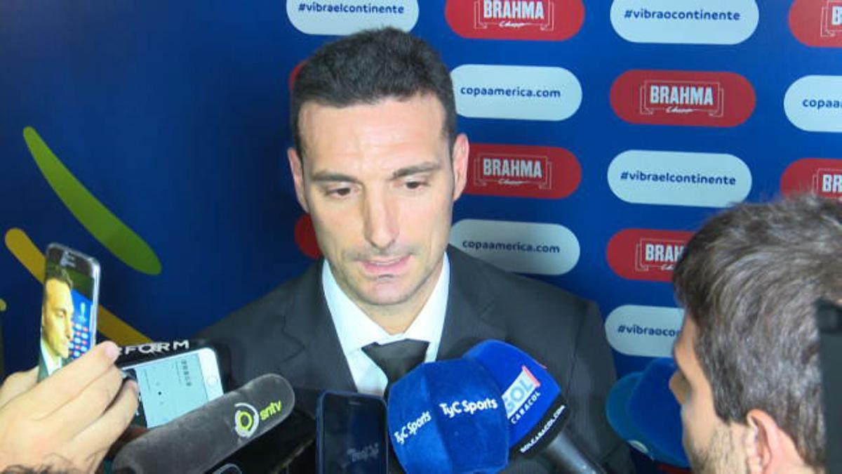 Scaloni se pronuncia sobre la vuelta de Messi con Argentina