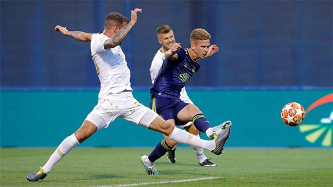 Con el futuro en el aire... Dani Olmo continúa marcando golazos con el Dinamo