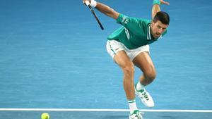 Novak Djokovic, en el pasado Open de Australia