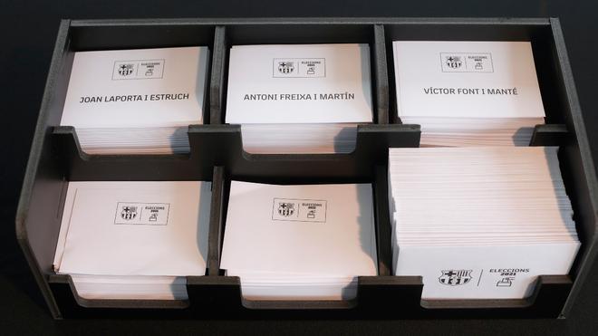 Los tres candidatos y sus votos en Girona