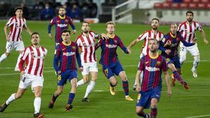 Barça y Athletic, tras verse las caras en la Liga y en la Supercopa, lo harán ahora en la final de la Copa