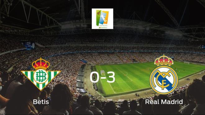 El Real Madrid Femenino se lleva los tres puntos a casa tras golear al Real Betis Féminas (0-3)